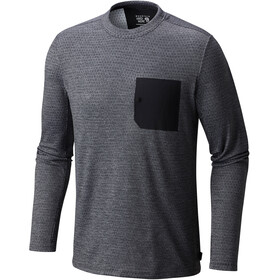 Mountain Hardwear M´s Mainframe Crew Long Sleeve Shark